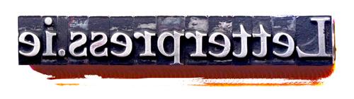 Letterpress-Type