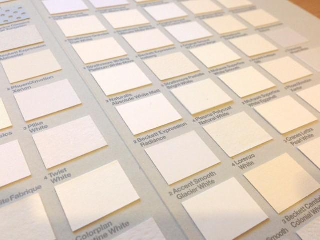 Choosing Paper