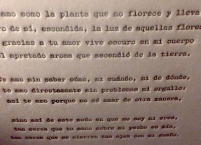 Spanish-poem